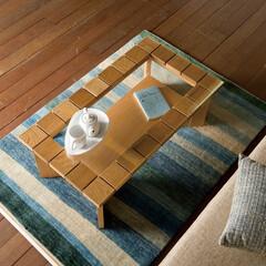 リビングテーブル/センターテーブル/ローテーブル/ガラス/おしゃれ/西海岸/... おしゃれなリビングテーブル
