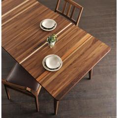 無垢材/無垢/天然木/ミックス/一点もの/ダイニングテーブル/... 無垢材ダイニングテーブル