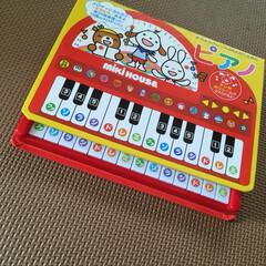 ミキハウス おんがくえほん ピアノ 17-1332-357 送料込み(幼児教育、教材)を使ったクチコミ「1歳の誕生日におすすめ」