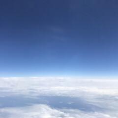 飛行機からの景色/はじめてフォト投稿 飛行機から見る景色が好きです