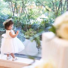 フラワーガール/結婚式コーデ/おすすめアイテム/令和の一枚/はじめてフォト投稿/フォロー大歓迎 小さな子の結婚式コーデって 悩みますよね…