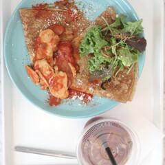 おしゃれカフェ/はじめてフォト投稿/至福のひととき/おやつタイム 横浜元町にあるおしゃれカフェ。  砂浜が…