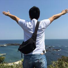 はじめてフォト投稿/風景 大好きな地元の雄勝町の海(^^)