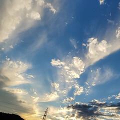 空画像/#はじめてフォト投稿 帰り道。綺麗だった!