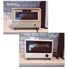 モノトーン/つや消し黒/DIY トースター塗装DIY