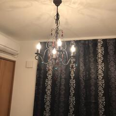 我が家の照明 5畳の寝室に丁度いい灯り!明るすぎず、暗…