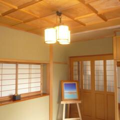 「#我が家の照明」/我が家の照明 玄関の照明です。 和風によくあうようにと…