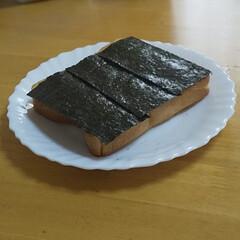 簡単/朝食/味付海苔/食パン
