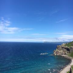 ブルー 北海道の海です!