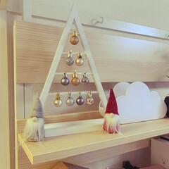 ダイソー/クリスマス/クリスマスツリー ダイソーさまさま!ニトリの似た感じがダイ…(1枚目)