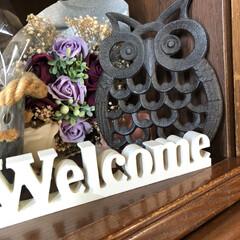暮らし/玄関あるある 玄関あるある welcomeのロゴ