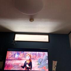 暮らし 娘の家に、壁掛けTV📺に変わってた! 良…(1枚目)