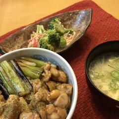 簡単料理/焼き鳥丼/玄関あるある/おうちごはん/暮らし おはようございます!ここは久しぶりの雨☂…
