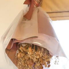 思い出/雑貨 娘の結婚式💒に、もらった花束💐  春色ド…