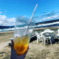 夏のお気に入り おたるドリームビーチ 北海道最後の夏!