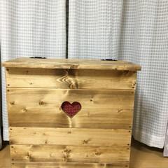 洗濯ハンガー収納 前回、製作中の洗濯ハンガー収納BOXを投…