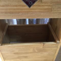 収納棚/ゴミ箱収納 今回は、リビングにあるゴミ箱を作成しまし…(7枚目)