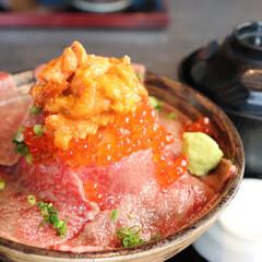 肉ドレス/海鮮丼/肉料理/フォローありがとうございます/丼もの/吉祥寺/... 吉祥寺で食べたどんぶり!!  【吉祥寺肉…