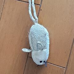 猫おもちゃ/猫と暮らす 最近お気に入りのネズミのおもちゃ。 くわ…(1枚目)