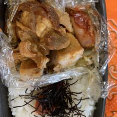 人参/ピーマン/キャベツ/豚しゃぶ肉/豚ロース/お弁当 昨日のお弁当 豚ロースの味噌漬けとウィン…