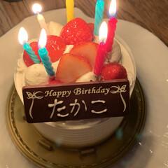誕生日 誕生日でした。   ただただ感謝です❗️(3枚目)