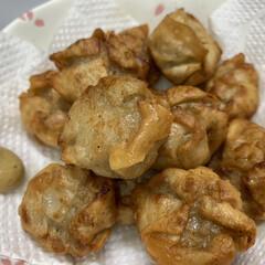 ごま/揚げ焼売/豆板醤/しょうゆ/三温糖/にんにく/... 今日…昨日の夕飯。  牛バラ、たまねぎ、…(2枚目)