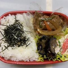 楽ちん/なす/カニカマ/きゅうり/玉ねぎ/ピーマン/... 今日のお弁当   昨日の残りの 豚ロース…