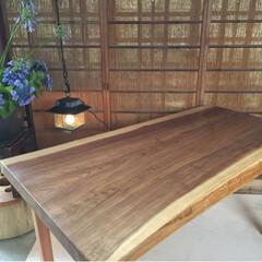 全国発送します♪/インスタグラム/ダイニングテーブル/1枚板テーブル/無垢テーブル ☆杉無垢テーブルつくります♪ サイズオー…