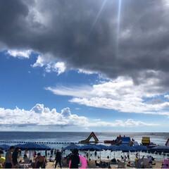 ビーチ/最高/青い/砂浜/海辺/うみ/... 夏の思い出です。 今年の夏も海に行きまし…