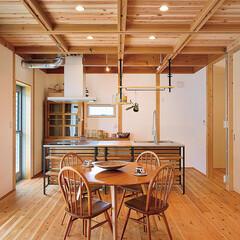 福知山市/福知山/大工/無垢床/木の香りがするお家/大工工務店/... . 木をふんだんに感じるお家🏠 …