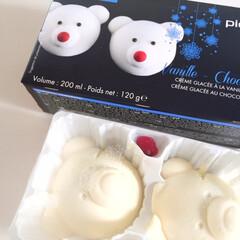 食後のデザート/ピカール/白くまのアイス/スランスのお味 食後のデザート。 ピカールの白くまのアイ…