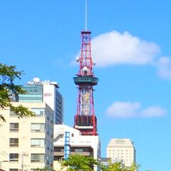今日のお出かけ/テレビ塔/11:11/ラッキー/ゾロ目 今日のお出かけ。 札幌テレビ塔には時計が…