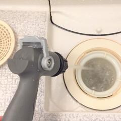 春/掃除/風呂場/ジェット水流でラクラク風呂掃除/排水口 春のお掃除スペシャル。 「ジェット水流で…