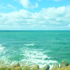 今日のお出かけ/北海道/日本海/オロロン街道/海/景色 今日のお出かけ。 北海道の日本海側・オロ…(1枚目)