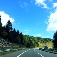 秋のドライブ/北海道/紅葉 秋のドライブ。 北海道を満喫! 紅葉には…(1枚目)