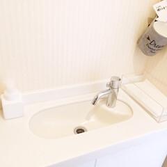 トイレ/手洗い/ペーパータオル/清潔 我が家のトイレ。 手洗いにはペーパータオ…