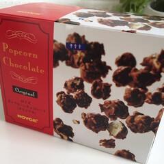 バレンタイン2019/ロイズ/ポップコーンチョコレート 家族へのバレンタインチョコは、愛情の一つ…