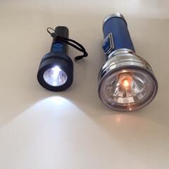 買ってよかった!100均アイテム/LEDライト/単三1本/停電時に大活躍 買ってよかった!100均アイテム LED…