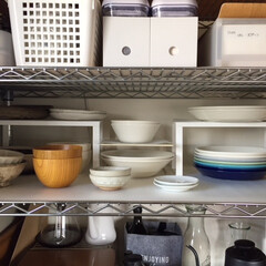 キッチン収納/食器棚/オープン収納/イケア/イッタラ/食器/... キッチン見せて! 我が家の食器はオープン…