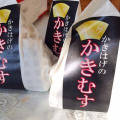 かきはげ/天ぷらのおにぎり/海老/カニ/ほたて/鮭 天ぷらがおにぎりになりました。 かきはげ…