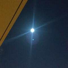 冬の1枚/冬の空/満月/スーパームーン/冬 冬の1枚。冬の空を撮影。 1月の満月はス…