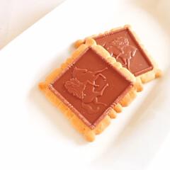 美味しいモノ/ゴディバ/チョコクッキー/#うちで過ごそう/いただきます 今日の美味しいモノ。 ゴディバのチョコク…