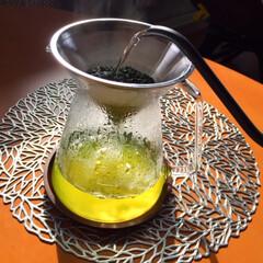 しあわせご飯。/食事に欠かせないお茶/ドリップで淹れる緑茶/わたしのごはん しあわせご飯。 ご飯のお供にお茶はかかせ…
