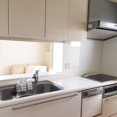 キッチン/作業台/何も置かない/掃除 キッチンの作業台に何も置かないと決めたら…