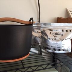 キッチン/収納/保存/アルミチャック付き保存袋 キッチンで活躍する雑貨。 100均のアル…