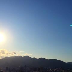 今日の空/太陽/午後のひととき/西日/温まる/風景/... 今日の空。 眩しいほどに太陽が差し込んで…