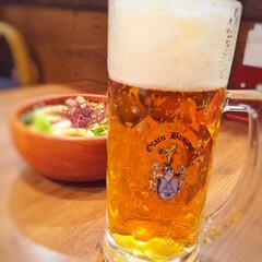 小樽ビール/びっくりドンキー/本場ドイツのお味/しあわせご飯/ごはん しあわせご飯。 小樽ビールをいただきます…
