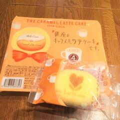 今日の美味しいモノ/東京/お土産/東京ばな奈/銀座のキャラメルラテケーキです 今日の美味しいモノ。 お土産にいただいた…