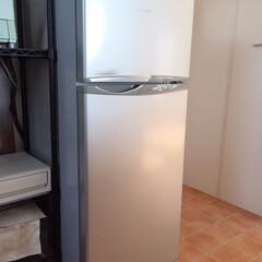 おうち自慢。/単身用冷蔵庫/充分間に合う/足りてます/おうち おうち自慢。 単身用の冷蔵庫を家族使いし…(1枚目)