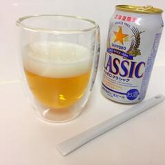 おうちごはん/ビール/プルトップ/無印良品/ヘラ おうちごはんのお供、ビール。 最近は、プ…(1枚目)